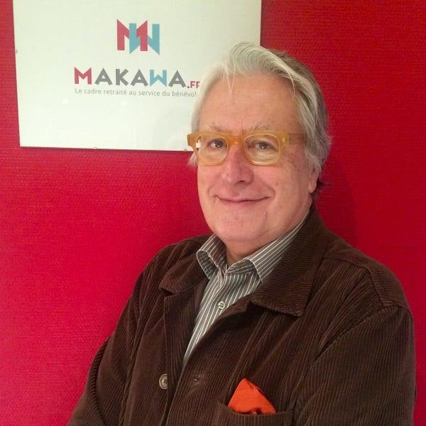 Portrait de Yves Séchaud, fondateur de Makawa