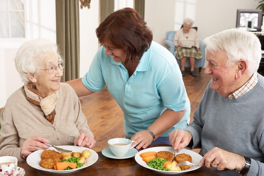 Personne âgée en EHPAD