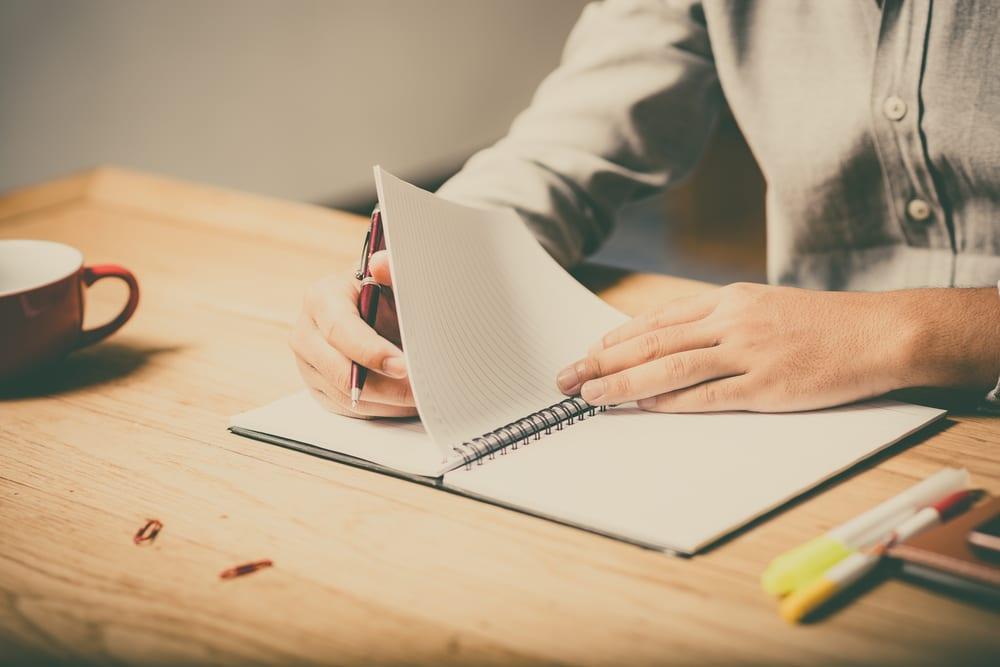 Un travail et projet d'écriture à deux