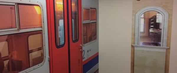 Un train fictif pour apaiser les personnes atteintes de la maladie d'Alzheimer à Valenciennes