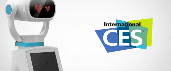 Hease, un robot d'accueil au service du retail, présenté au CES 2017 à Las Vegas