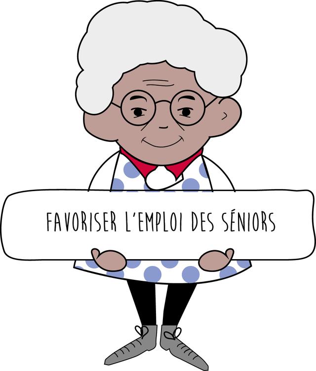 L'objectif de Nos Grands-Mères ont du talent est de favoriser l'emploi des personnes âgées
