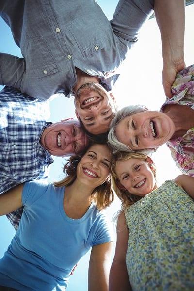 Liens intergénérationnels avec la famille