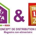 Vita Confort reçoit le Prix du concept de distribution innovant aux Trophées LSA 2016 de l'innovation