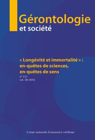 CNAV - gérontologie et société