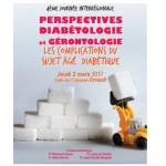 2 mars 2017 : 4ème journée interrégionale « Perspectives Diabétologie et Gérontologie » à Orvault