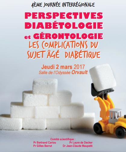 4ème journée interrégionale « Perspectives Diabétologie et Gérontologie » @ Salle de l'Odyssée Bois Cesbron | Orvault | Pays de la Loire | France