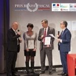 Le Département de la Haute-Savoie et la société Evolution Consulting ont reçu le prix Blaise Pascal «Coopération numérique en santé»