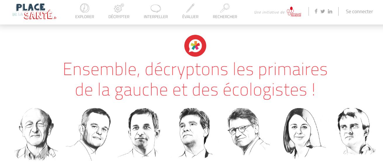 Site Mutualité Française Place de la santé