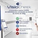 Visiomed lance VisioCheck, sa station mobile de télémédecine connectée