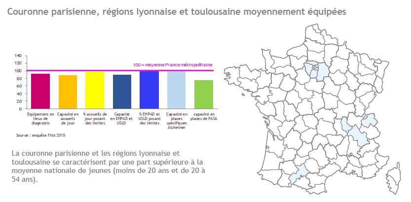 Cartographie Fondation Médéric Alzheimer