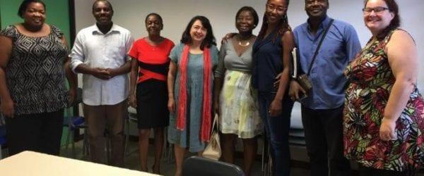 La Caisse nationale de solidarité pour l'autonomie en visite en Guyane