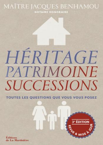 Livre Héritage Patrimoine et Successions