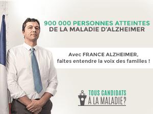 Tous candidats à la maladie - Campagne de France Alzheimer (1)