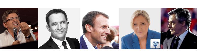 Candidats à la présidentielle