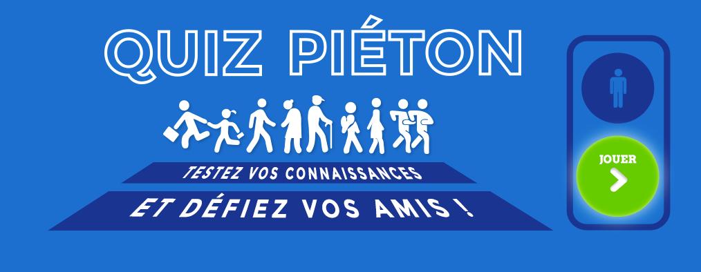 Quizz Piéton