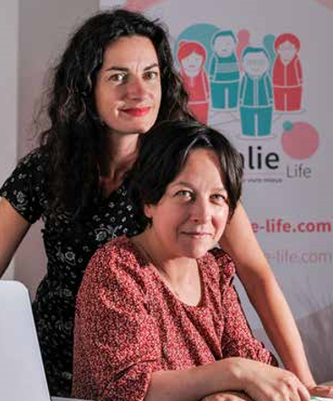 Rosalie Life co-fondatrices