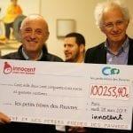 Plus de 100 000€ récoltés par Innocent au profit des Petits Frères des Pauvres