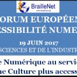 La 11ème édition du Forum européen de l'accessibilité numérique se tiendra le 19 juin 2017