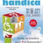 Retrouvez Bluelinea au salon Handica de Lyon du 7 au 9 juin 2017 !