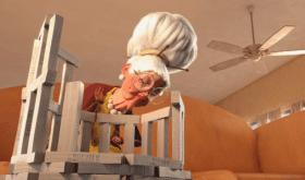 «Jamais sans mon dentier», un court-métrage d'animation qui met en scène des résidents âgés