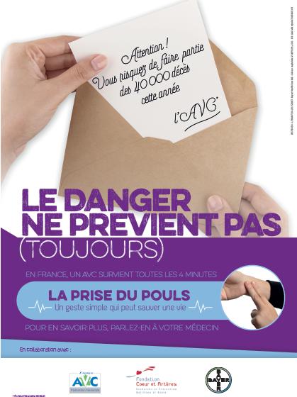 Journée européene de l'AVC 2017 - Poster