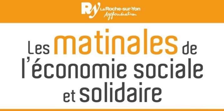 Matinale à La Roche sur Yon : « Silver Economie, quels besoins pour demain ? » @ Maison de Quartier du Pont Morineau | La Roche-sur-Yon | Pays de la Loire | France
