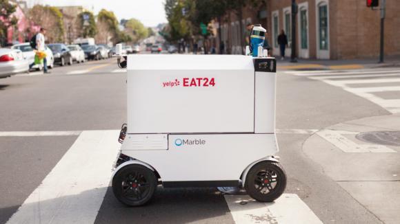Robot Marble livreur de repas à San Francisco