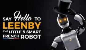 Une levée de fonds de 600 000€ pour Cybedroïd et son robot majordome Leenby