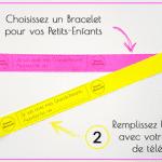 Le bracelet «Pas de Panique» : pour rassurer les grands-parents à l'approche des vacances