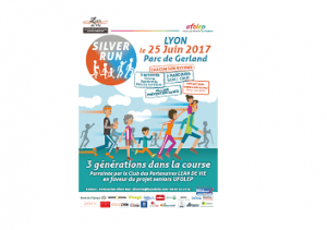SILVER RUN®, course intergénérationnelle à Lyon