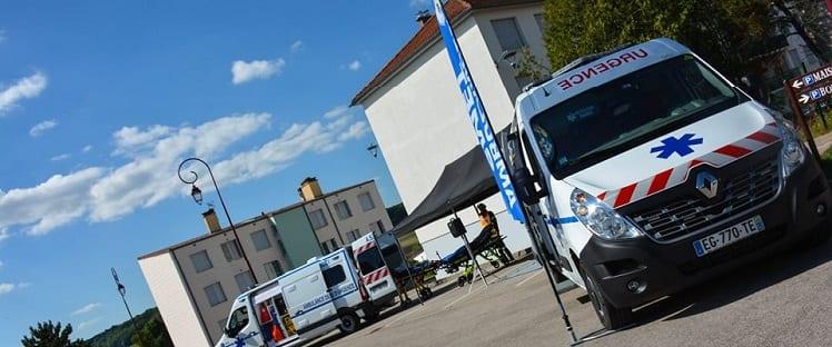 Des ambulances connectées en Haute-Marne