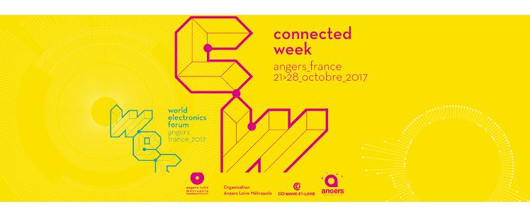 Save the date : la Connected Week, ce sera à Angers du 21 au 28 octobre 2017