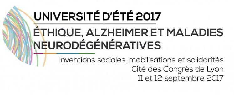 7e Université d'été Éthique, Alzheimer et maladies neurodégénératives @ Centre de Congrès de Lyon  | Lyon | Auvergne-Rhône-Alpes | France