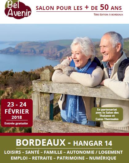 Affiche salon Bel Avenir Bordeaux