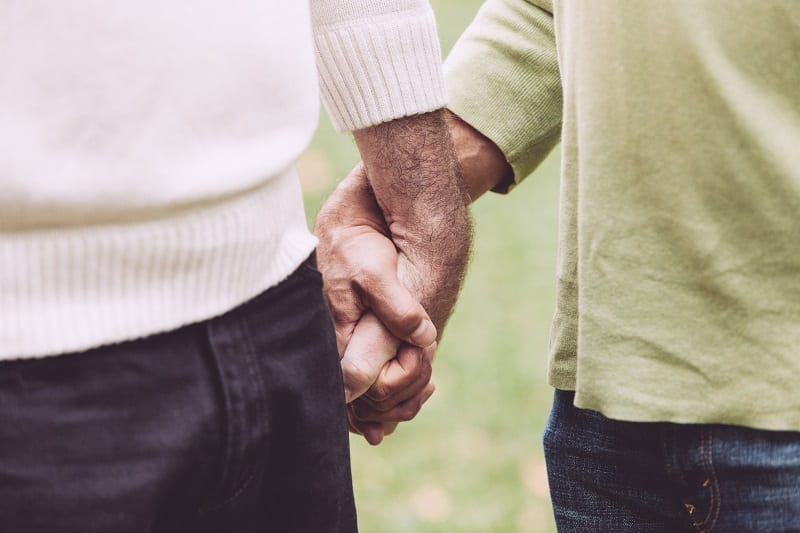 Couple homosexuel - LGBT - Gay - Amour