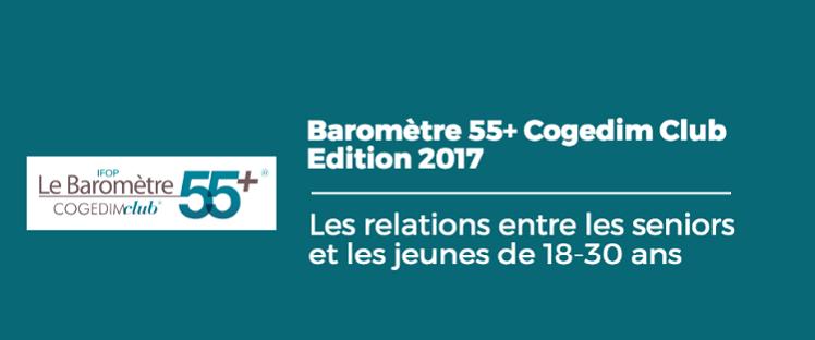 Baromètre 55+ Cogedim Club : quelles relations les seniors et les jeunes entretiennent-ils ?