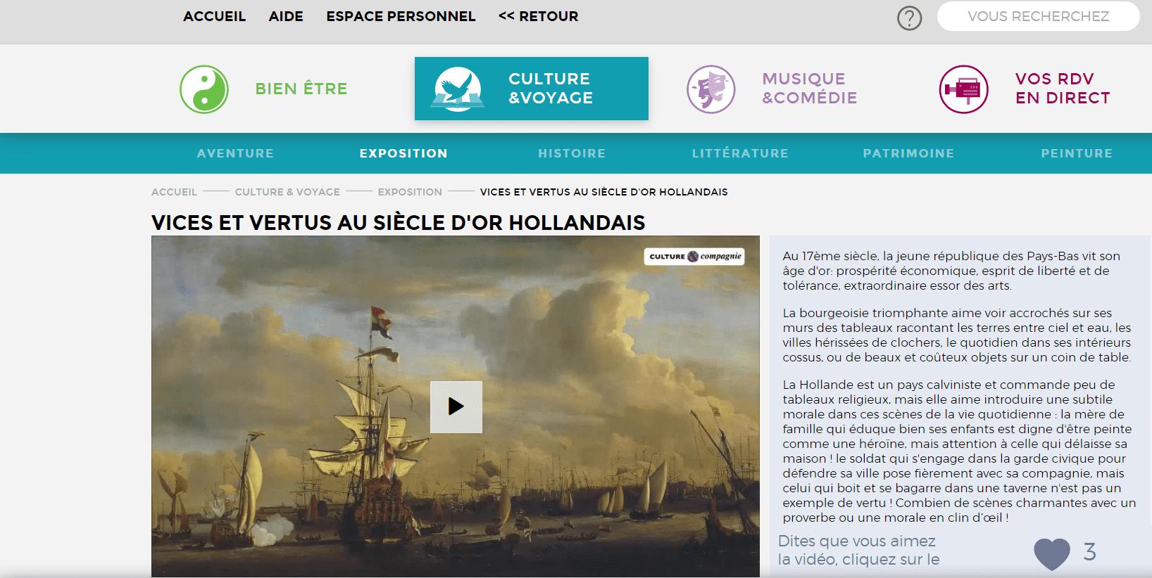 WebTV Culture et Compagnie