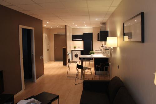 Appartement témoin Homelab - Crédit photo : Institut de la Vision