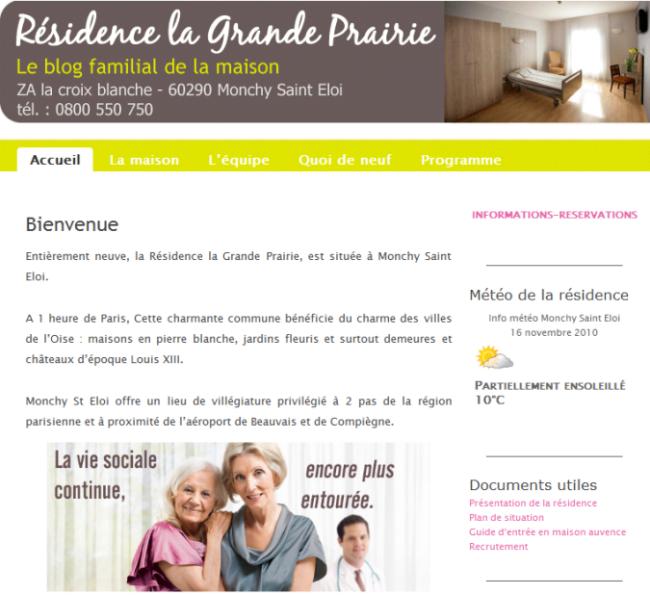 Blog Maison de retraite AUVENCE