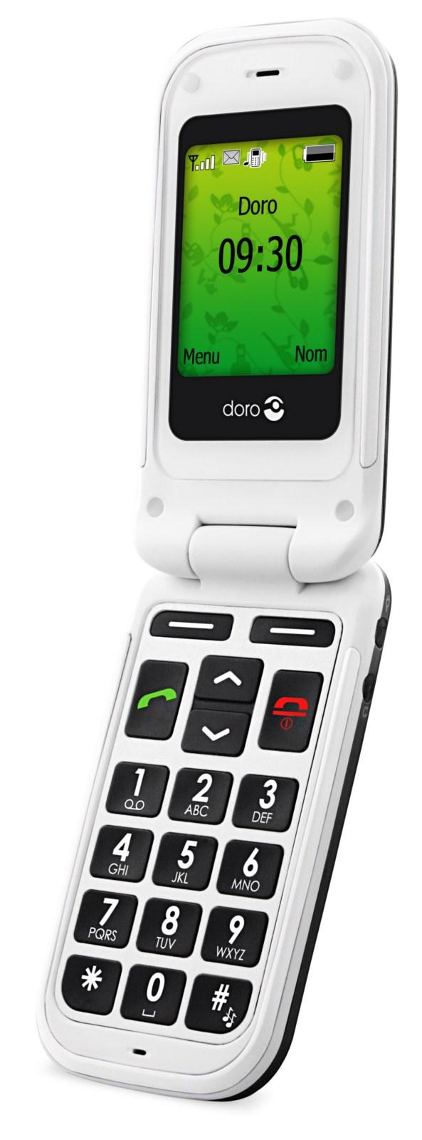 Le téléphone pour séniors Doro Phone Easy 410 distribué par SFR