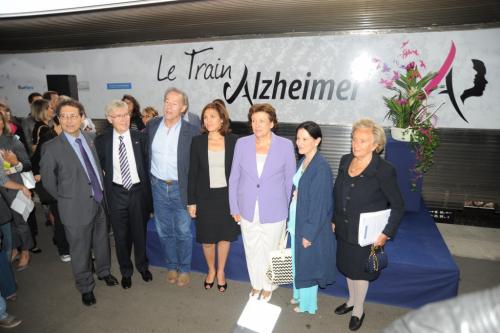 Inauguration du Train Alzheimer