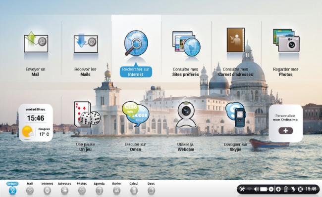 Ordissimo V2 - Nouvelle interface de l'ordinateur pour seniors
