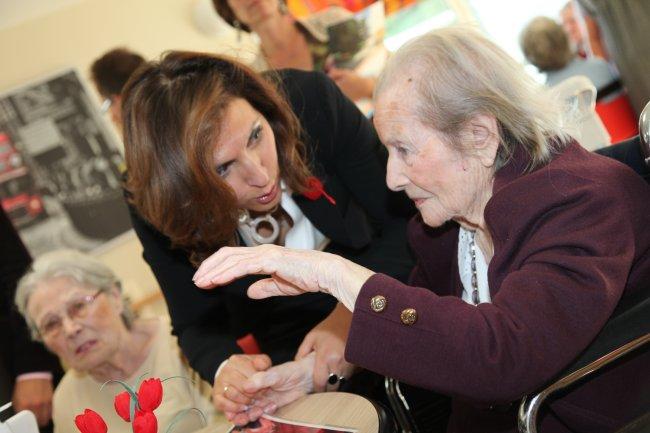 Inauguration les Magnolias, Nora Berra