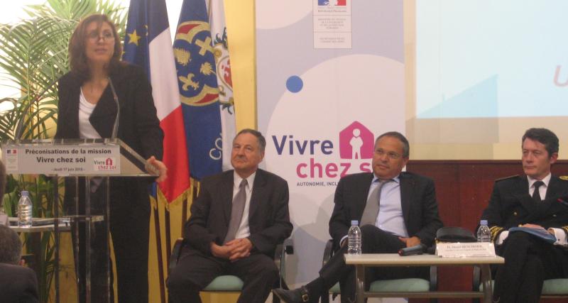 Mission Vivre Chez Soi - Nora BERRA & Alain FRANCO