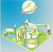 Le Stand de Vivago à Hôpital Expo