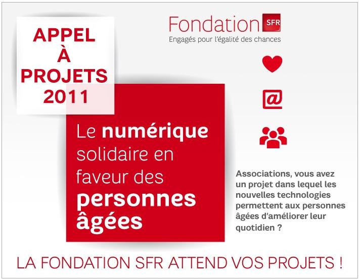 Appel à Projets Fondation SFR : Le numérique Solidaire en faveur des personnes âgées