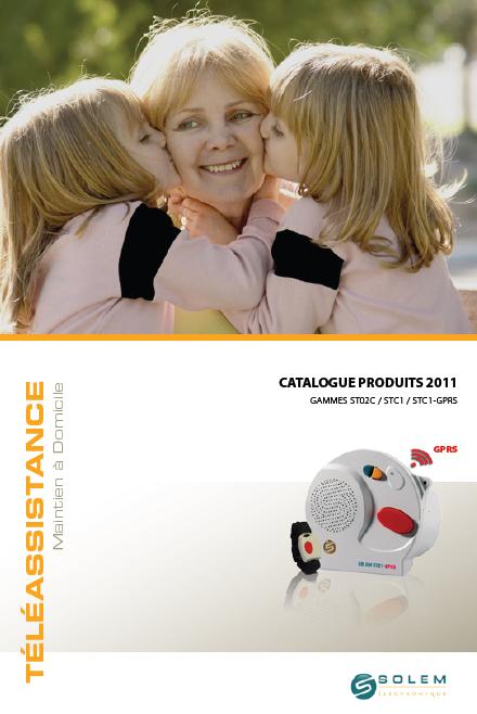 Catalogue Téléassistance 2011 de la société Solem Electroniqe