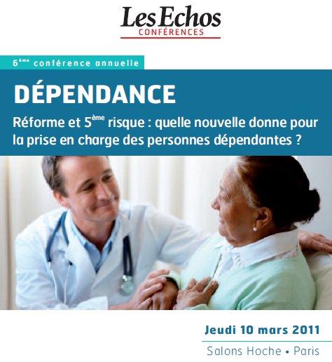 Conférence Les Echos sur le cinquième risque dépendance
