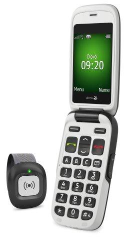 Téléassistance : Doro Phoneeasy 682 avec gps et bracelet d'appel d'urgence